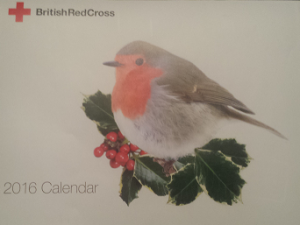 Photo of Red Cross 2016 calendar