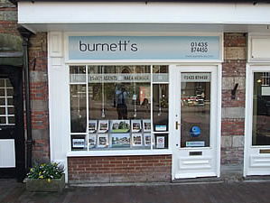 Photo of Burnetts Estate Agency in the High Street Mayfield